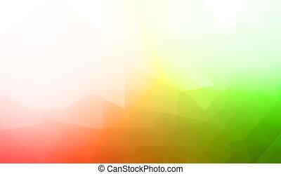 Creative bright background