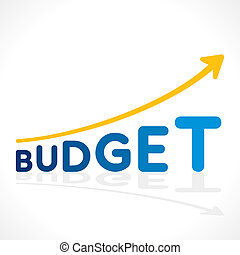 creative budget word growth graph