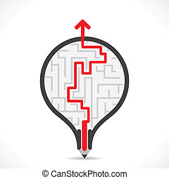 bulb design with finding path - creative bulb design with ...