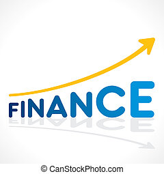 creative business finance graph