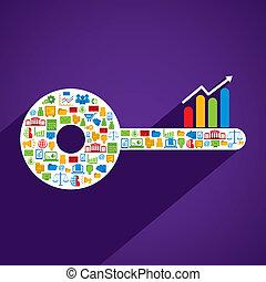 creative business key
