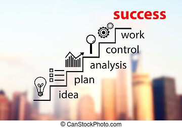 Success and career concept
