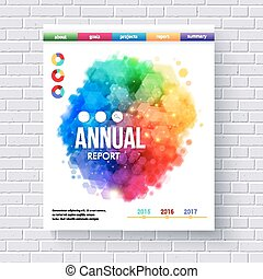 Business Web Template Emphasizing Annual Reports - Creative...