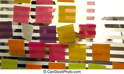 Creative business with post it
