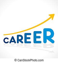 creative career word growth graph
