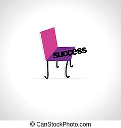 chair with success