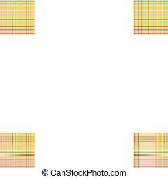 Creative checkered texture