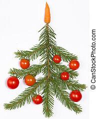 creative Christmas tree