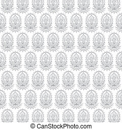 creative classic flora pattern