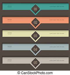 Creative colored Design template