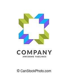Cross Health Care Medical Logo