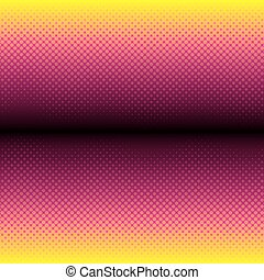 creative colorful halftone pattern design