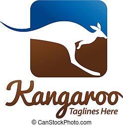 colorful Kangaroo logo