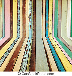 Creative colorful wood background