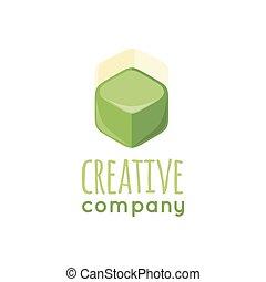 Creative Company Logo Design Flat