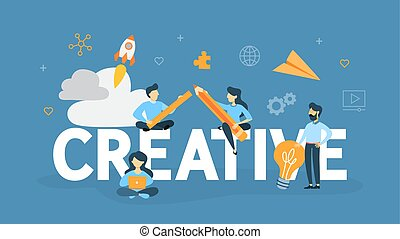 Creative concept illustration