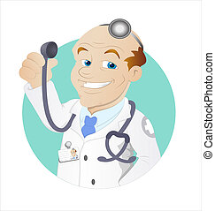 Doctor Cartoon Character