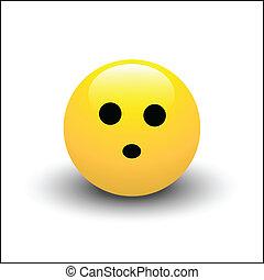 Surprised Smiley Vector