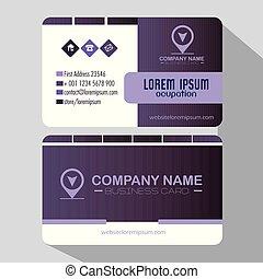 creative corporate business card templates vector illustration graphic design