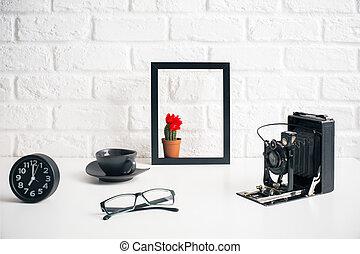 Creative decorative desktop
