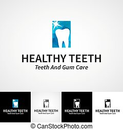 Creative dental logotype template. Teethcare vector logo set. dentist clinic insignia, orthodontist illustration, teeth vector design, oral hygienist concept for stationary, business card graphic, medical products poster image.