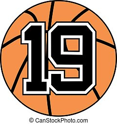 19 basket symbol