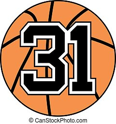 31 basket symbol
