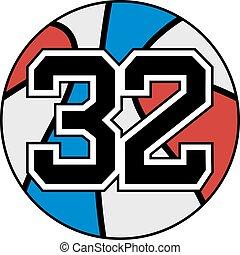 ... 32 basket - Creative design of 32 basket
