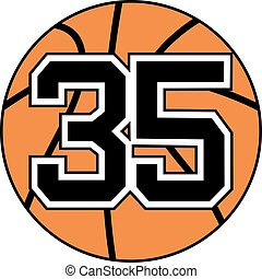 35 basket symbol