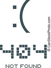 404 not found advise symbol