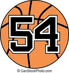 54 basket symbol