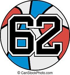 62 basket - Creative design of 62 basket