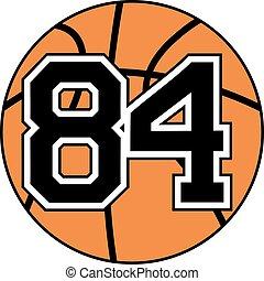 84 basket symbol