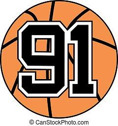 91 basket symbol