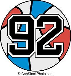 92 basket - Creative design of 92 basket