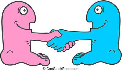 agreement puppet