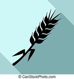 Creative design of agriculture icon