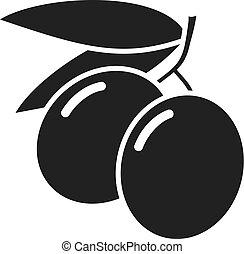 agriculture olives symbol
