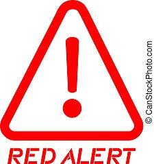 alarm red alert advise