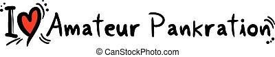 amateur pankration - Creative design of amateur pankration