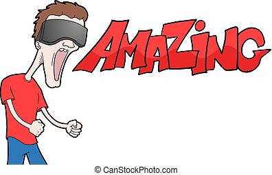 amazing vr exrpession - Creative design of amazing vr...