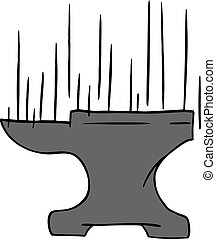 anvil falling draw - Creative design of anvil falling draw