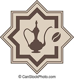arabic coffe symbol