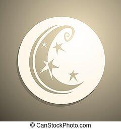 art moon symbol