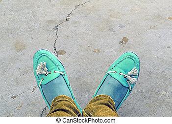 Artistic foot - Creative design of Artistic foot