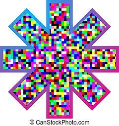 asterisk color symbol