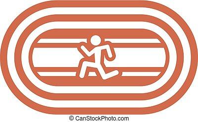 Athletics symbol