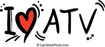 ATV love