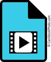 avi file symbol - Creative design of avi file symbol