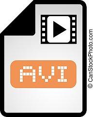avi symbol - Creative design of avi symbol
